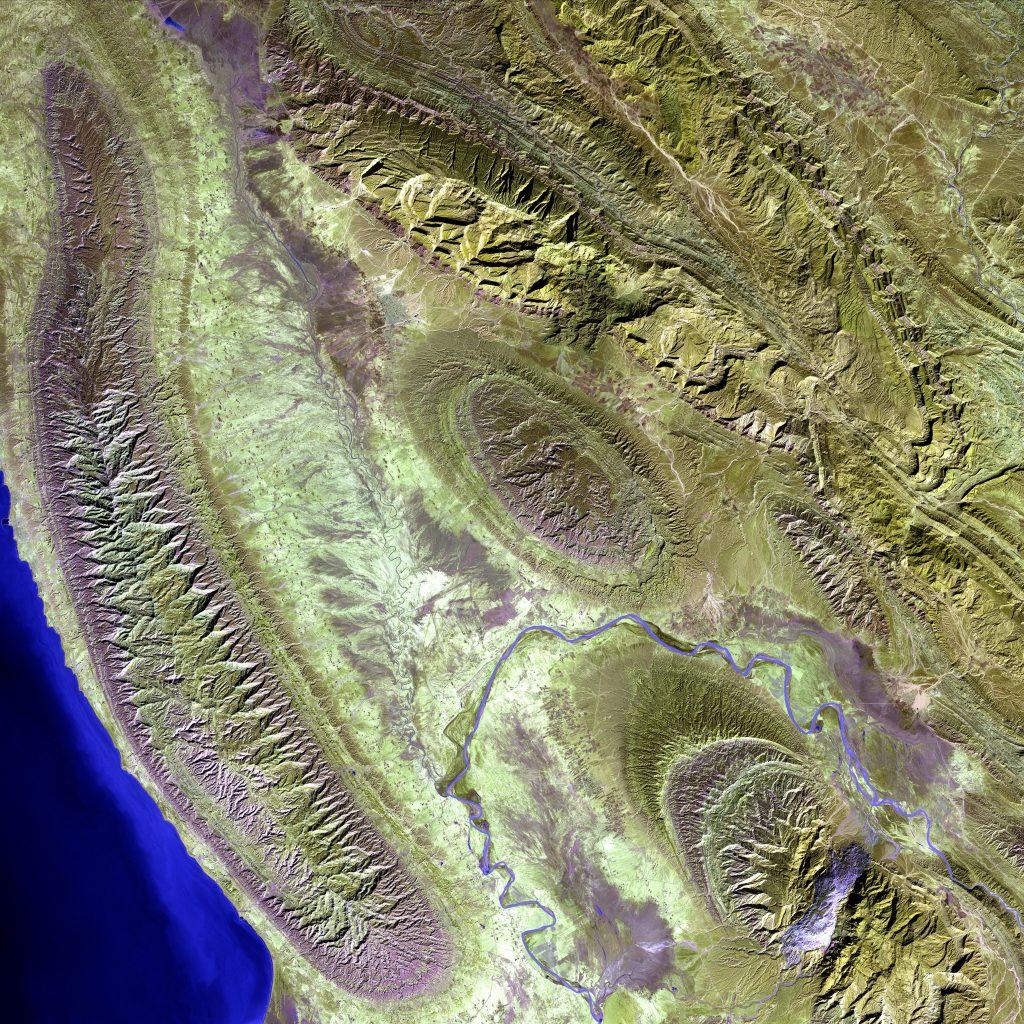 Contoh Citra Satelit USGS