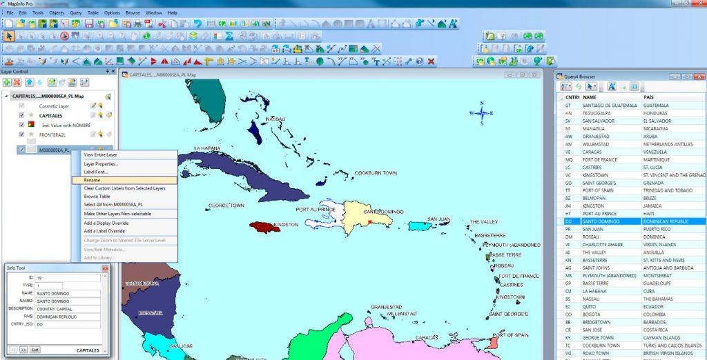 Perbedaan MapInfo Professional dan ArcGIS